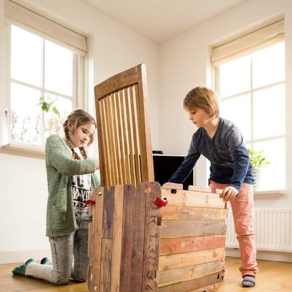 bouwpakket van fantasy forts trendy speelgoed