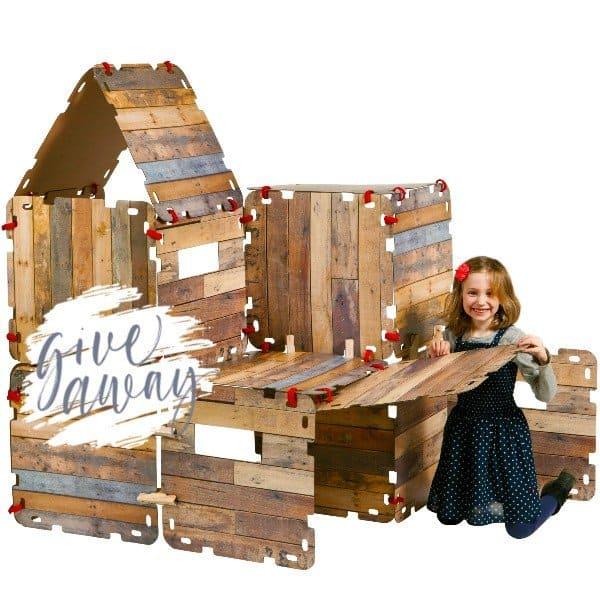 WIN: Fantasy Forts, bouw je hut van karton (twv € 29,95) van Trendy Speelgoed