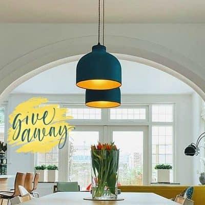 WIN: duurzame hanglamp, handgemaakt van I am recycled (twv €85)