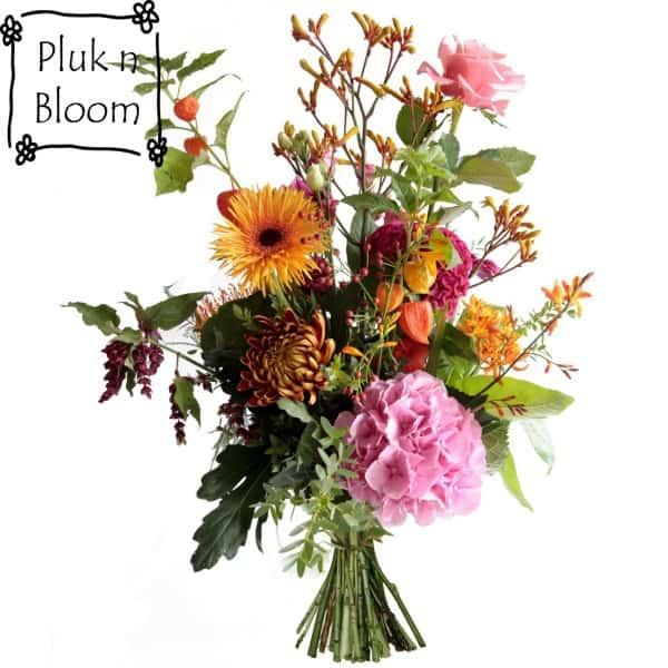 pluk n bloem veldboeket lisse