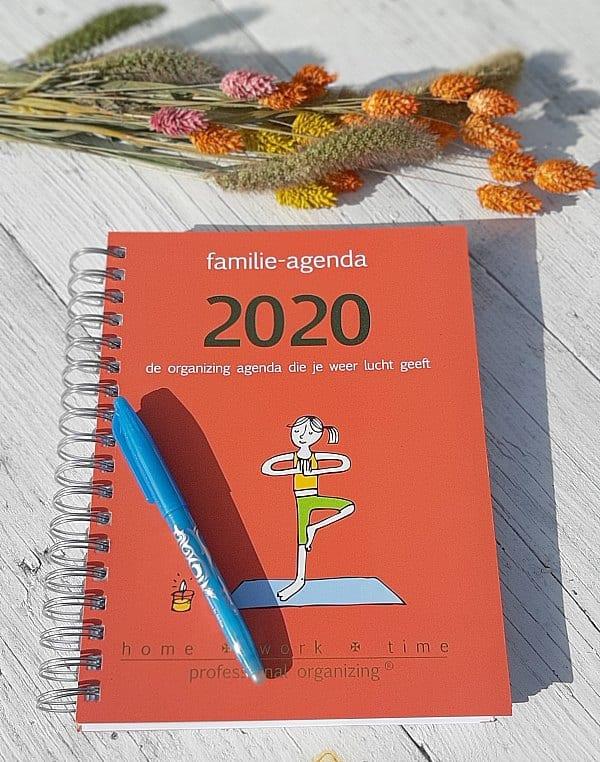 organizing agenda voor gezin