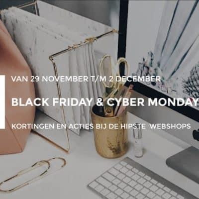 Black Friday Deals ★ shoppen met korting en toffe acties bij deze hippe webshops