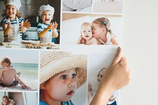 easycollage poster grootouders kleinkinderen
