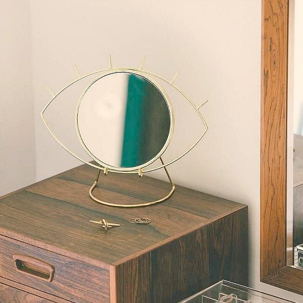 kapspiegel tafelspiegel cycloon doiy design