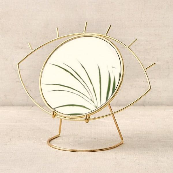 gouden tafelspiegel cycloop