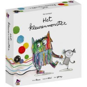 Met het Kleurenmonster bordspel kun je met jonge kinderen werken aan herkennen van emoties.