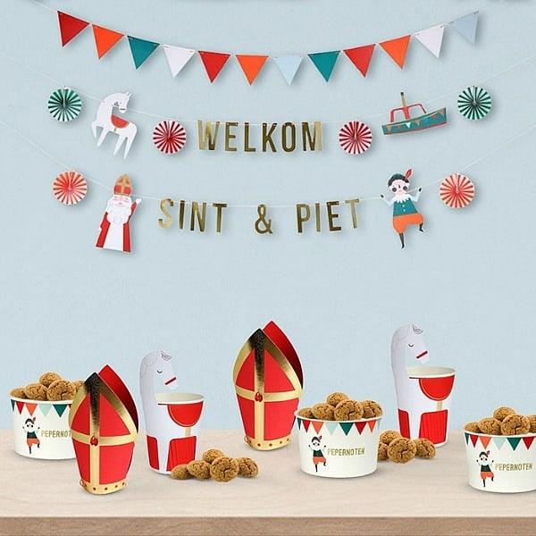 Sinterklaas decoratie van Meri-Meri | Kidsdeco.nl