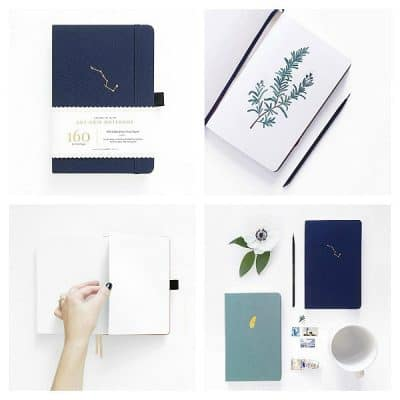 Stationery Musthave: Archer & Olive Blanc A5 Night Sky Sketchbook