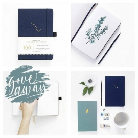 Archer & Olive Blanc Notebook A5
