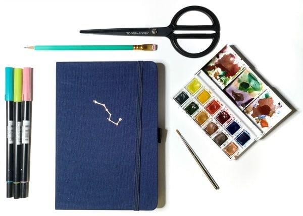 schetsboek archer and olive