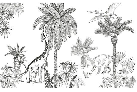 lilipinso Kinderbehang Dinosaurus Jurassic Park
