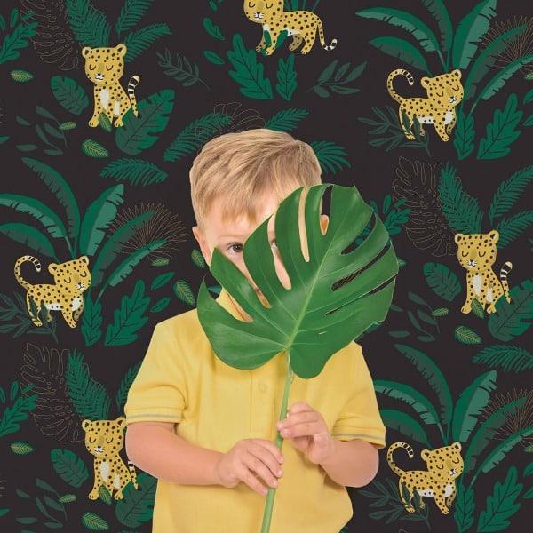 Kinderbehang Jungle Nacht