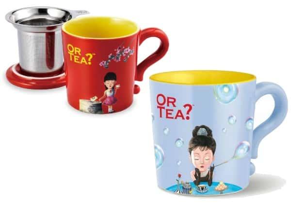or tea mugs
