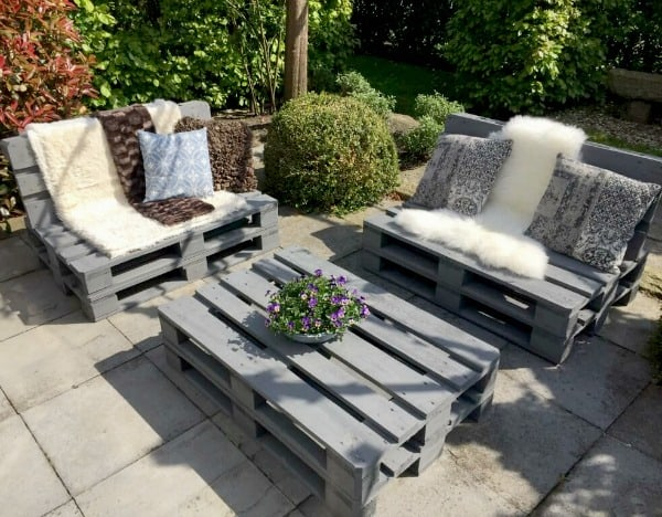 pallet tuinset loungeset deluxe