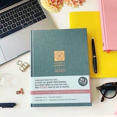 Met de Purpuz Planner 2020 behaal je eindelijk je doelen en leer je plannen als een pro