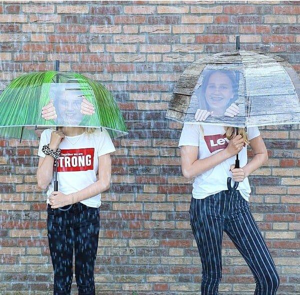 kiekeboek paraplu transparant esschert design
