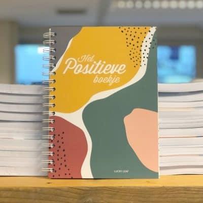 Het Positieve Boekje van Lucky Leaf – hippe stationery voor een positieve mindset