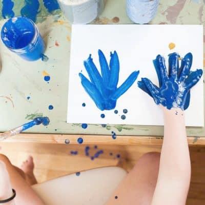 Verantwoord knutselen met kinderen, kies voor duurzame klei en natuurlijke kinderverf