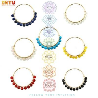 Chakra sieraden van InTu jewelery voor een stuk balans en geluk in je leven