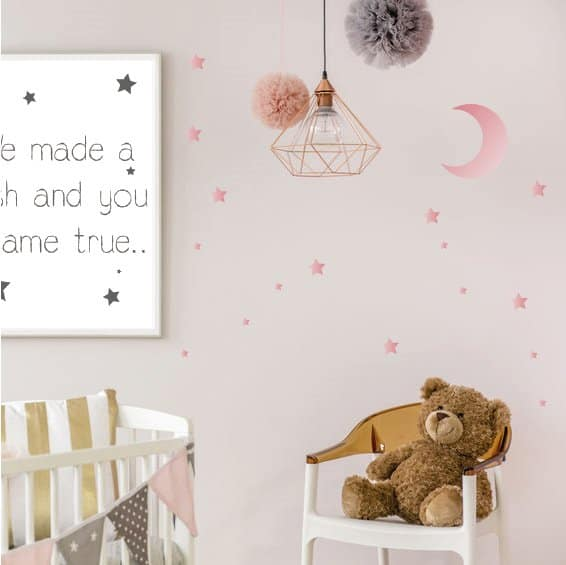 lm baby art poster babykamer quote