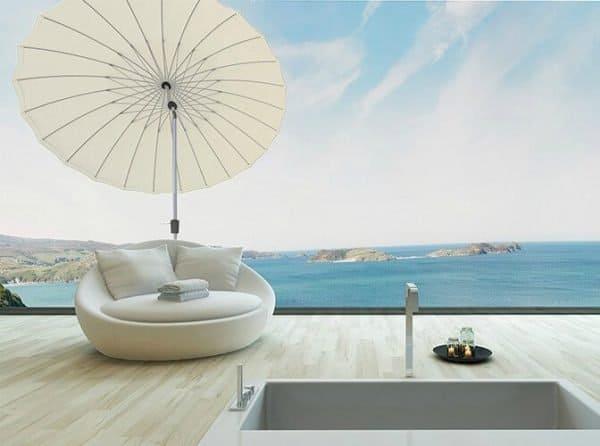 kantelbare ronde parasol