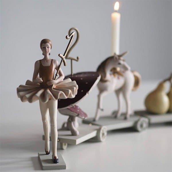 Konges Slojd verjaardagstrein ballerina