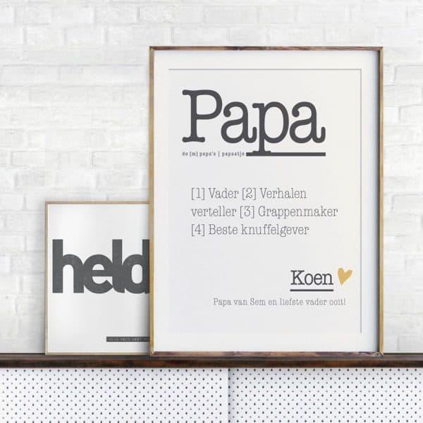 gepersonaliseerde vaderdag printables