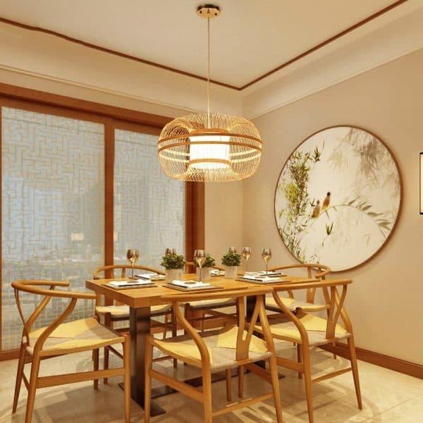 op zoek naar nieuwe verlichting bamboe hanglamp