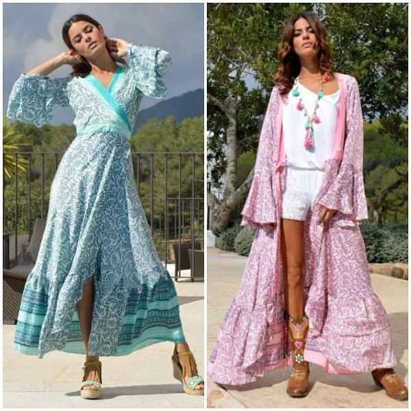 kimono's van boho babe hippiejurk