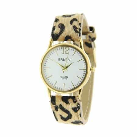 Luipaard horloge