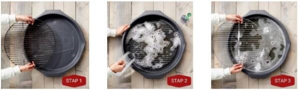 grill wash bbq schoonmaken 3 stappen