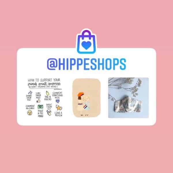 Instagram sticker Steun MKB