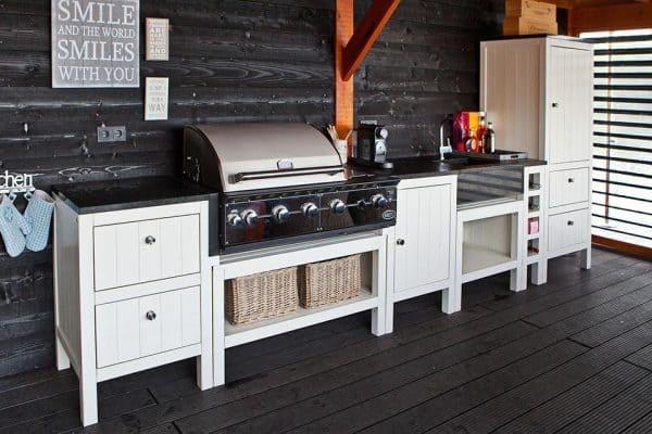 buitenkeuken barbecue grill buiten koken