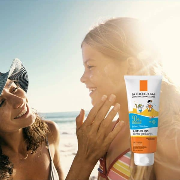 La Roche-Posay Anthelios Dermo-Pediatrics sunprotection SPF50+.
