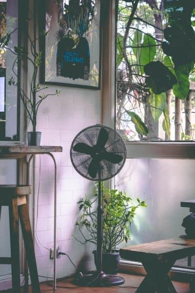 ventilator koel huis