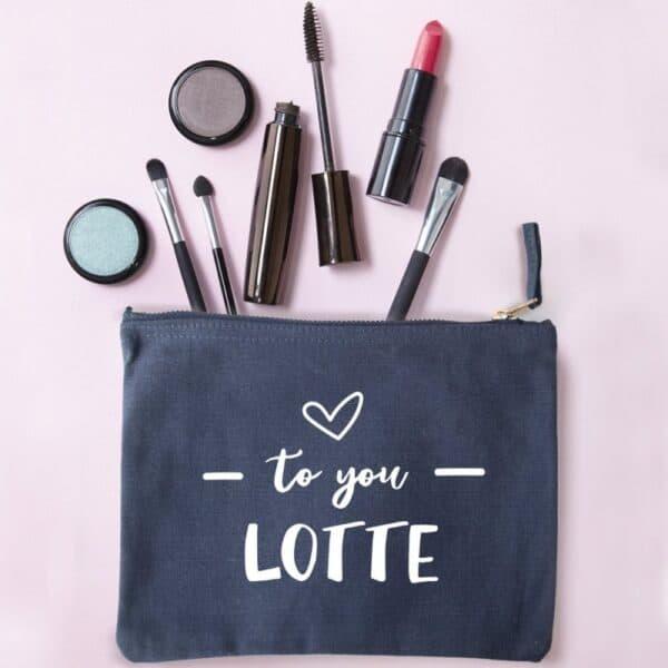 gepersonaliseerd make-up tasje
