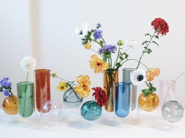 studio about: glass tubes vases