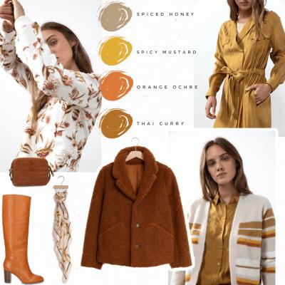 Warme herfstkleuren in de najaarscollectie van Sissy Boy