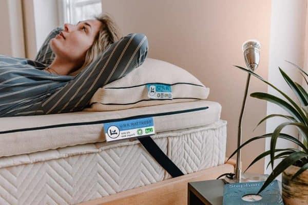 Natuurlijk slapen op 100% natuurlijk matras van biologische latex