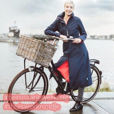 Fiets naar je Werk Dag & Thuiswerk Rondje – win een elektrische fiets