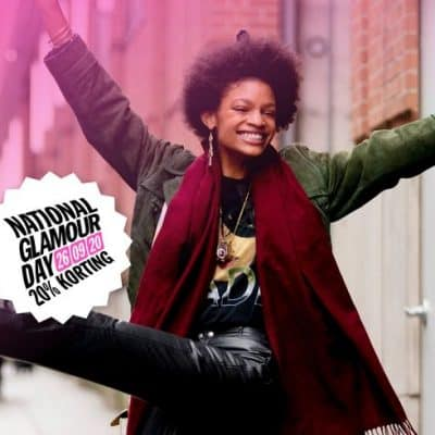 National Glamour Day 2020: álle 20% kortingcodes op een rij