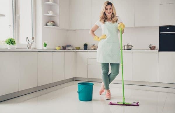 schoonmaken met HG