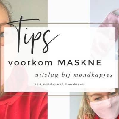 Uitslag door mondkapje: tips om maskne te voorkomen