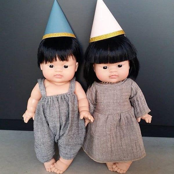 Babypop meisje Aziatisch Jade