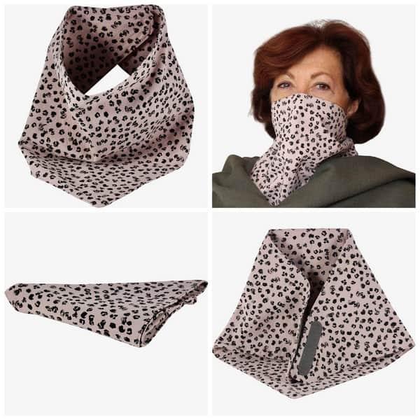 Mondneusmasker Sjaal met klittenband, een handig design van Cloth Face Masks