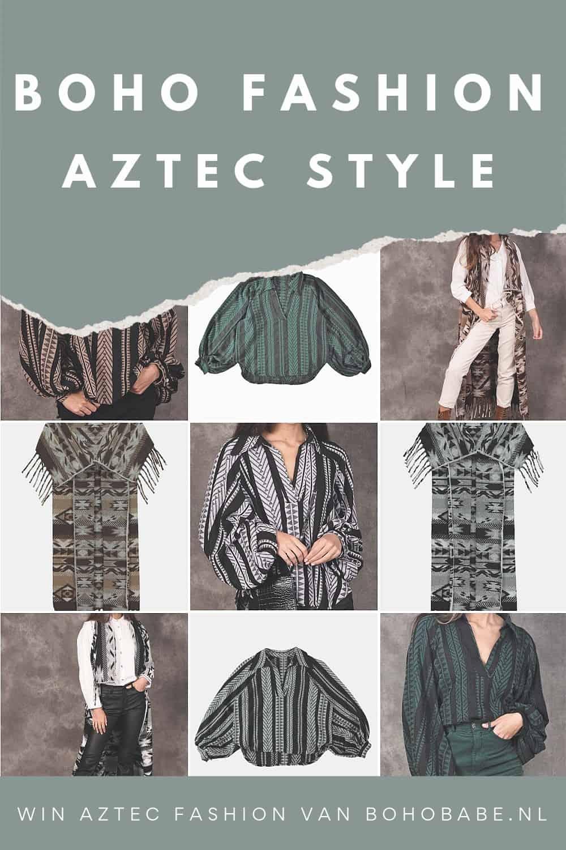 boho fashion aztec style