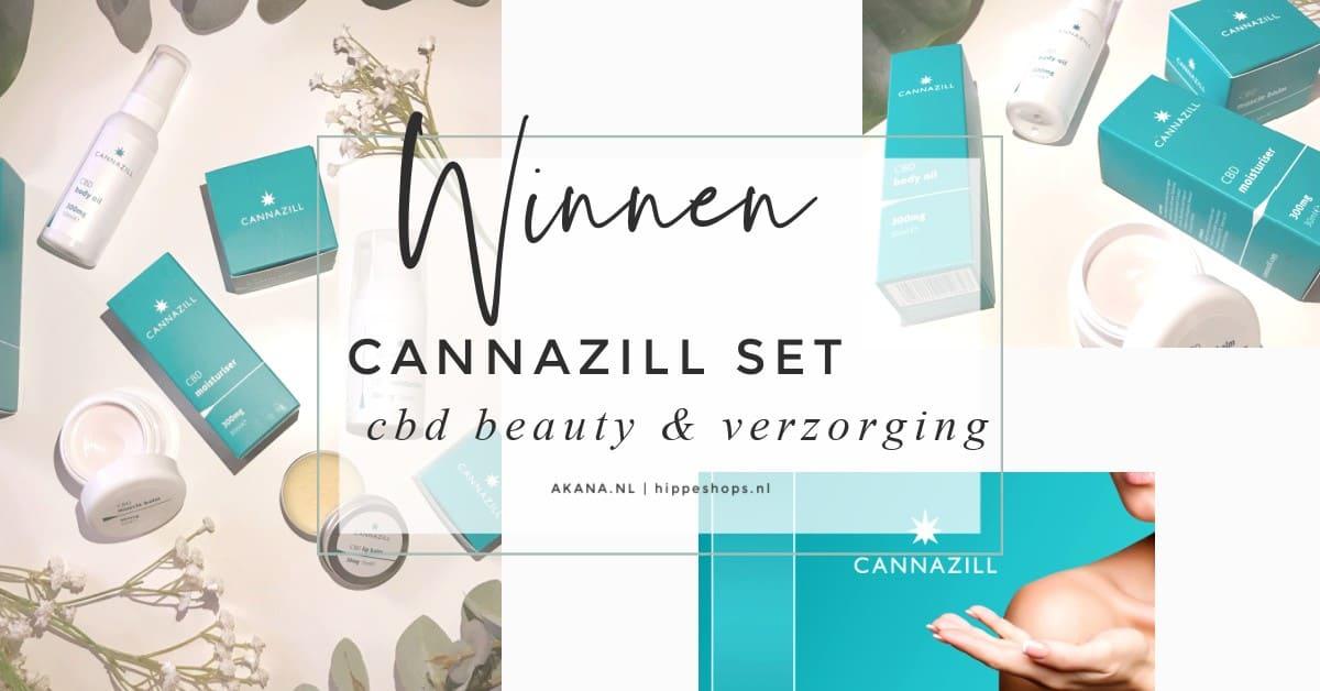 cannazill set cbd oil beauty