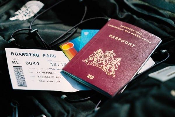 paspoort boardingpass esta aanvragen voor amerika