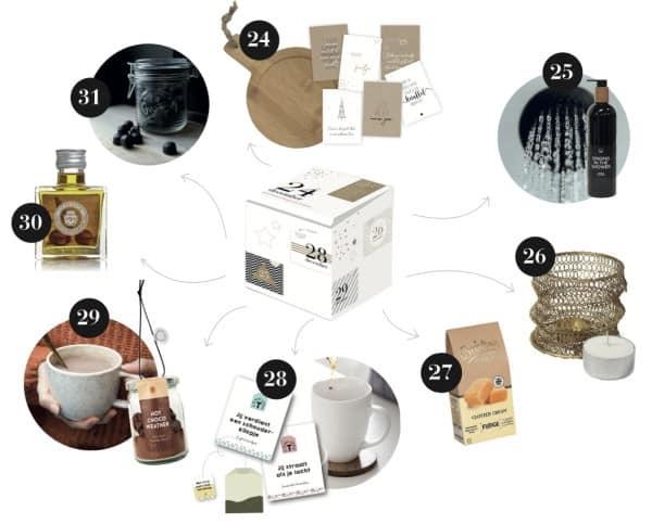 inhoud coundown box pimpjetafel