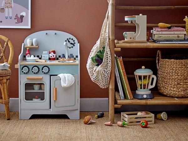 Scandinavisch design: houten speelgoed van Bloomingville